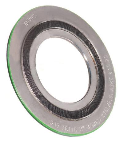 Spiral Wound Gaskets :: Novus Sealing